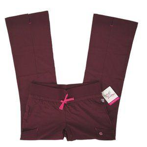 Smitten Scrub Pants S201019-RWPN Wine